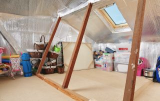 Dust Proof Attic Storage Perth