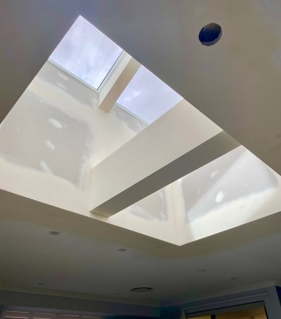 Lansdale Double Velux With Feature Beam